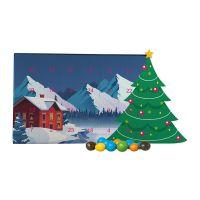 Mini Adventskalender mit Schoko-Erdnüssen und Werbedruck Bild 5