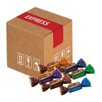 Mini-Cargo Merci-Chocolate Collection mit Werbeanbringung Bild 1