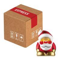 Mini-Cargo Schoko-Weihnachtswichtel mit Werbeanbringung Bild 1