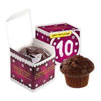 Muffin Maxi in der Werbe-Box mit Logodruck Bild 2