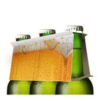 Naturradler Biermischgetränk mit Werbeeetikett Bild 3