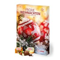 Organic Adventskalender Ferrero Küsschen Hoch- oder Querformat mit Werbedruck Bild 1