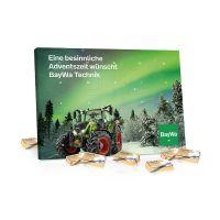 Organic Lindt Tisch Adventskalender Select Edition mit Werbedruck Bild 2