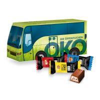 Oster Bus Lindt HELLO Mini Sticks mit Werbedruck Bild 1
