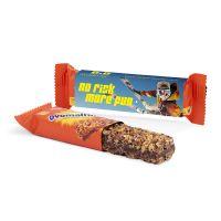 Ovomaltine Müsli Snack im Werbeschuber mit Logodruck Bild 1