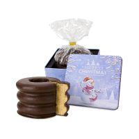 Präsent Baumkuchen in Weihnachtdose Bild 1