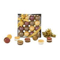 Präsent Goldene Macarons Bild 1