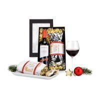 Präsent Rotwein und Stollen Bild 2