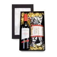 Präsent Rotwein und Stollen Bild 1