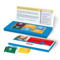 Präsentbox mit Ritter SPORT Quadretties und Werbedruck Bild 3