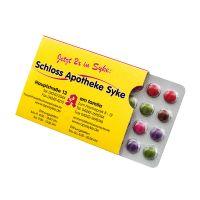Schoko-Blister im Schuber mit Werbedruck Bild 1