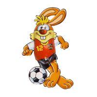 Schokoladen Fußball-Bunny Bild 2