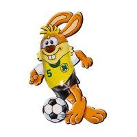 Schokoladen Fußball-Bunny Bild 4