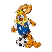Schokoladen Fußball-Bunny Bild 5