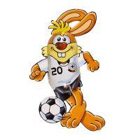 Schokoladen Fußball-Bunny Bild 1