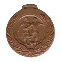 Schokoladen Fußball Sportmedaille Bild 1