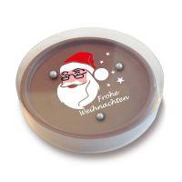 Schokoladen Geduldsspiel Weihnachten Standard Bild 1