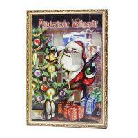 Schokoladen Krimi-Adventskalender individuell bedruckt Bild 1