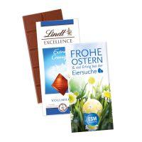 Schokoladentafel Excellence von Lindt mit Werbekartonage mit Logodruck Bild 2