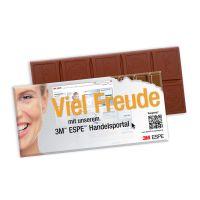 Schokoladentafel Excellence von Lindt mit Werbekartonage mit Logodruck Bild 4