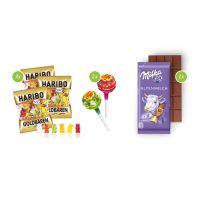 Schultüte mit Milka Schokoladentafel und mit Logodruck Bild 3