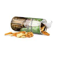 Snack Roll veganer Knabber Mix mit Logodruck Bild 1