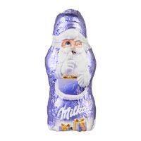 Süßes Briefchen mit Milka Mini Weihnachtsmann und Logodruck Bild 3