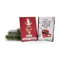 Tassenkuchen Standardmotiv Frohe Weihnachten Bild 1