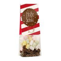 Trinkschokolade im Standbeutel mit Werbereiter Bild 1