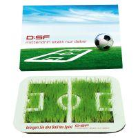 Wachsende Fußball Arena mit Ihrem Werbeslogan Bild 1