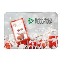 Weihnachtliche Sweet Card mit Werbedruck Bild 2