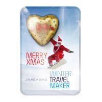 Weihnachtliche Sweet Card mit Werbedruck Bild 3