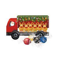 Weihnachts-Express LKW Lindor Pralinés mit Werbebedruckung Bild 2