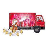 Weihnachts-Express LKW Lindt Vollmilch mit Werbebedruckung Bild 2