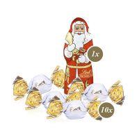 Weihnachts-Express LKW Lindt Vollmilch mit Werbebedruckung Bild 3