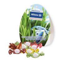 Werbe-Osterei Lindt Macarons mit Werbebedruckung Bild 1