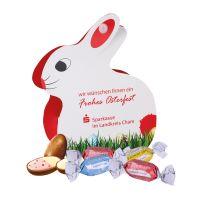 Werbe-Osterhase Lindt Joghurt-Eier mit Werbebedruckung Bild 1