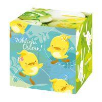 Werbe Osterkalender Cube mit Logodruck Bild 3
