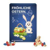 Werbe Osterkalender Lindt Gourmet Edition mit Werbedruck Bild 2