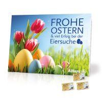 Werbe-Tisch-Osterkalender Lindt mit Werbebedruckung Bild 2