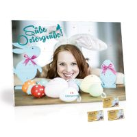 Werbe-Tisch-Osterkalender Lindt mit Werbebedruckung Bild 3