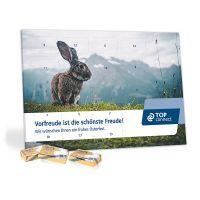 Werbe-Tisch-Osterkalender Lindt mit Werbebedruckung Bild 1