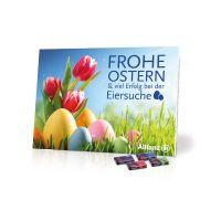 Werbe-Tisch-Osterkalender Sarotti mit Werbebedruckung Bild 2