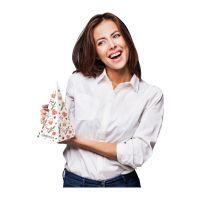 Werbeadventskalender in Pyramidenform mit Werbedruck Bild 4
