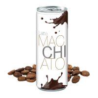 Werbegetränk Latte Macchiato mit Logodruck Bild 1