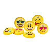 Werbekarte Lindt HELLO Mini Emoti mit Werbedruck Bild 3