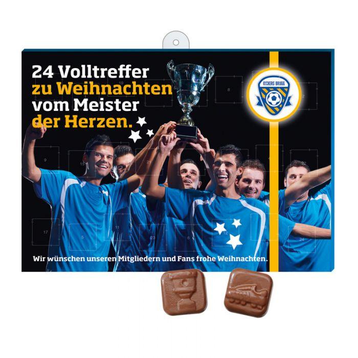 Fussball Schoko Adventskalender Mit Logodruck