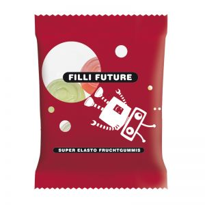 10 g HARIBO Mini-@-Zeichen Fruchtgummi im Werbetütchen mit Logodruck