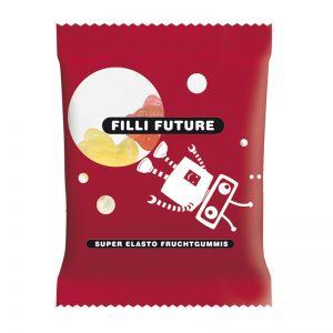 10 g HARIBO Mini-Fische Fruchtgummi im Werbetütchen mit Logodruck
