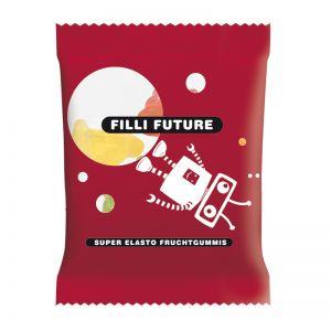 10 g HARIBO Mini-Flugzeuge Fruchtgummi im Werbetütchen mit Logodruck